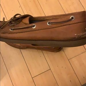 Sperry Shoes - Men's size 10.5 Brown leather Sperrys
